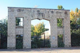 Firth Brown Steels - The Gateway from Thomas Firths, Norfolk Works (relocated to present site) in Sheffield.