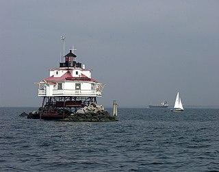 Thomas Point Shoal Light lighthouse in Maryland, United States