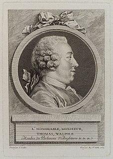 Thomas Walpole British politician