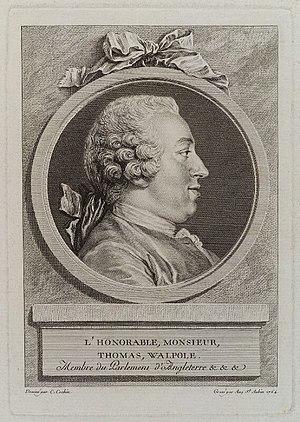 Thomas Walpole - Thomas Walpole, 1764 engraving