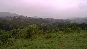Thuamul Rampur from nearby Hill