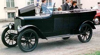 Thulin A (automobile) - Thulin A20 Phaeton 1920