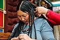 Tibetan Female Headdress in Kham Derge Mesho 2.jpg