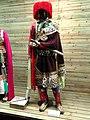 Tibetan knight clothes - Yunnan Nationalities Museum - DSC04234.JPG