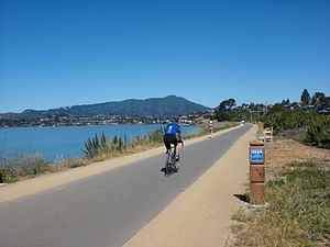 San Francisco Bay Trail - Image: Tiburon Bay Trail