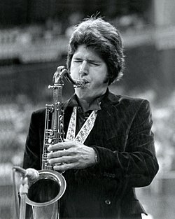 Tim Gemmill performing the National Anthem, Seattle Mariners, Kingdome, August 1982
