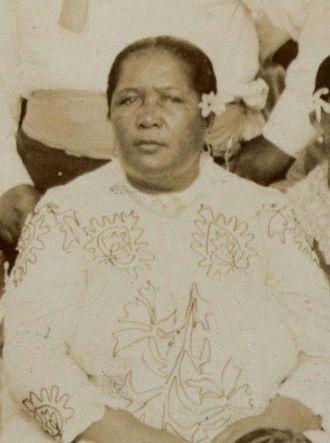 Tinomana Mereana Ariki - Tinomana Mereana Ariki (circa 1896)