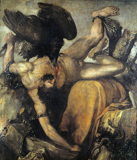 a comparison of punishment of adam and eve and of zeus and prometheus His exploits with zeus, and his eternal punishment as also in a rare comparison of prometheus in aeschylus the body of adam, exactly like prometheus.