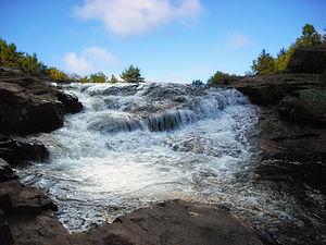 Tobyhanna Township, Monroe County, Pennsylvania - Tobyhanna Falls