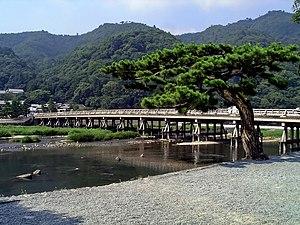 Ukyō-ku, Kyoto - Togetsu Bridge in Arashiyama