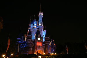 Cinderella (Disney character) - Cinderella Castle at Tokyo Disneyland.