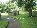 Tombs in the churchyard at St James, Shipton - geograph.org.uk - 1446481.jpg