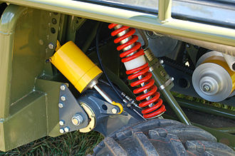 Tomcar - Image: Tomcar Suspension