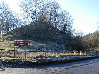 Llanarmon-yn-Iâl Human settlement in Wales
