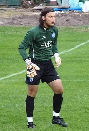 Tommy Lee (footballer) - Lee playing for Chesterfield in 2011