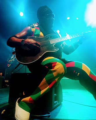 "Toots and the Maytals - ""Toots"" Hibbert at La Cigale, Paris, in 2017"
