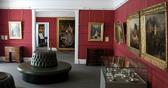Torre Abbey - 19th-century paintings in the permanent exhibition