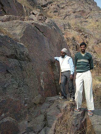 Tosham - Tosham rock inscription