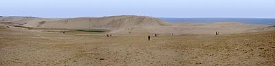 The Tottori Sand Dunes.