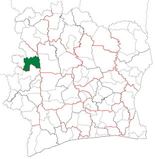Touba Department Department in Woroba, Ivory Coast