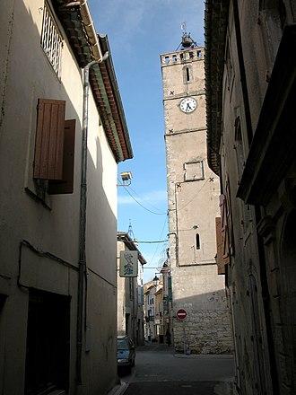 Cazouls-lès-Béziers - Image: Tour horloge cazouls