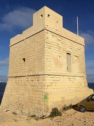 Triq il-Wiesgħa Tower - Two views of the tower after restoration