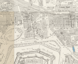 Tower of London station (disused) on 1896.png