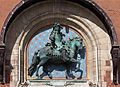 Town hall of Dunkerque - equestrian statue-7577.jpg