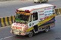 Toyota Dyna ambulance, Bangladesh. (34694822945).jpg