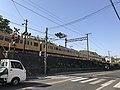 Train of Sanyo Main Line passing through Senkoji Crossing.jpg