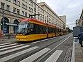 Tram in Warsaw, Pesa Jazz 134N n°3813.jpg