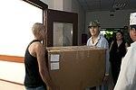 Transit Center donates medical supplies to Kyrgyz military hospital 130827-F-LK329-004.jpg