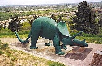 Emmet Sullivan - Image: Triceratops Dinosaur Park