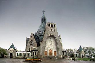 Notre-Dame-du-Cap Basilica - Image: Trois Rivieres N Ddu Cap 1 tango 7174