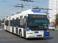 Trolleybus Bimode ex-Lausannois n°808, En Roumanie.jpg