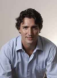 Justin Trudeau en 2008.