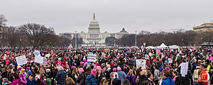 Trump-WomensMarch 2017-top-1510075 (32409710246).jpg