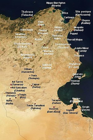 History of Roman-era Tunisia - Roman-era Tunisia