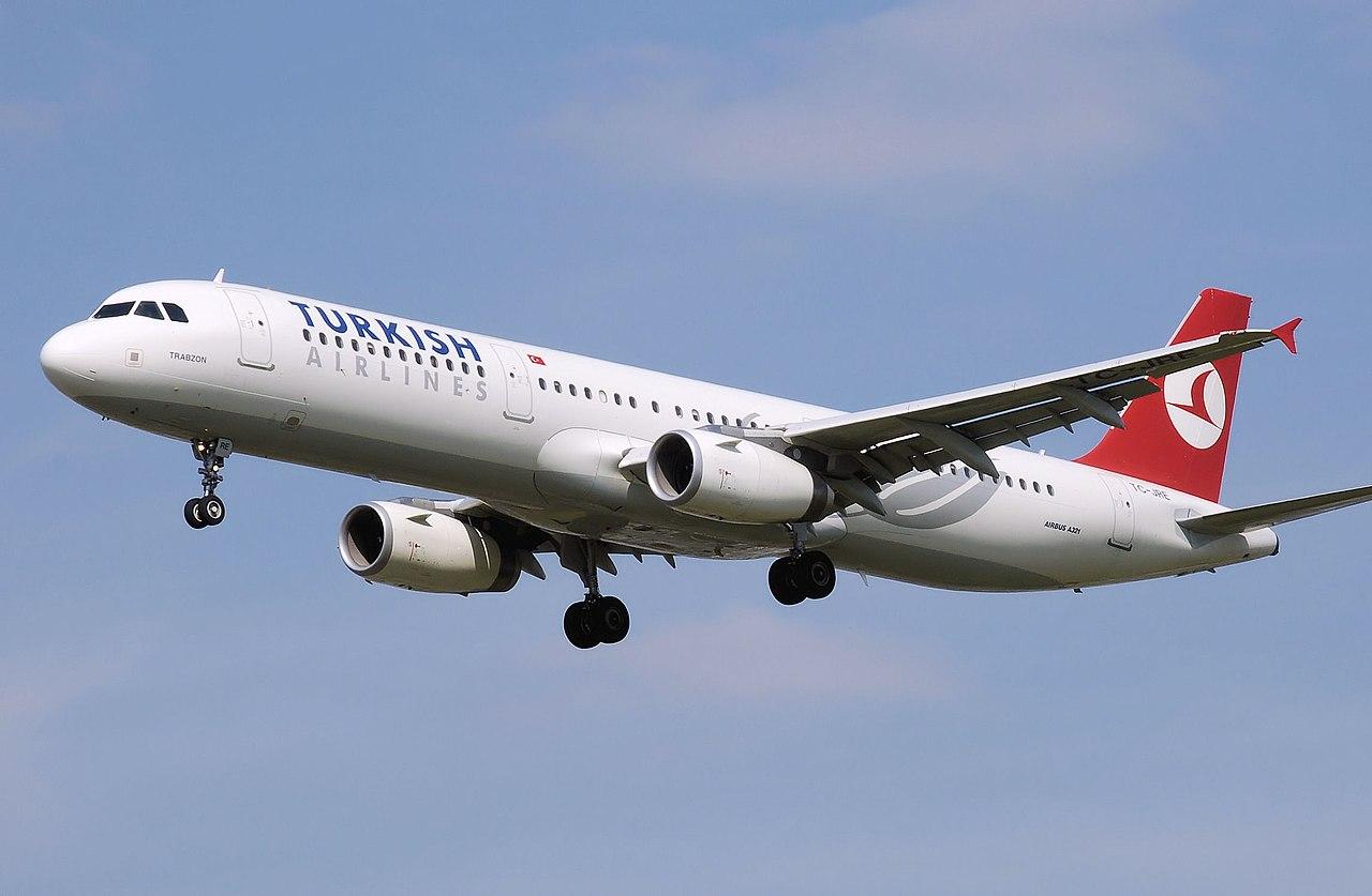 Letadlo Turkish Airlines, en.wikipedia.org