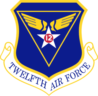Charles Bond (pilot) - At the time of his retirement, Bond was commander of the Twelfth Air Force (insignia pictured).