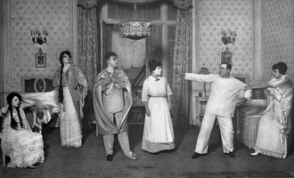 Twin Beds (1914 play) - Scene from Act 2