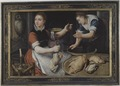 Two Women Cooking (Pieter Aertsen) - Nationalmuseum - 17275.tif