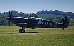 Two seater Spitfire, Imperial War Museum, Duxford, May 19th 2018. (27407475867).jpg