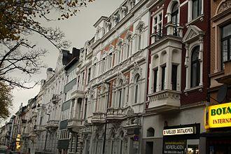 Gründerzeit - Another example of Aachen early 20th-century Gründerzeit houses