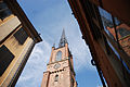 Tyska kyrkan (-German Church-) bell tower. Stockholm, Sweden, Northern Europe.jpg