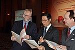U.S. Ambassador David B. Shear at the Provincial Competitiveness Index 2011 Launch (6924715691).jpg