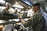 U.S. Marines and Sailors enjoy an ice cream social 150808-M-TJ275-022.jpg
