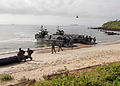 U.S. Marines and Senegalese service members secure a beach while conducting an amphibious landing during Africa Partnership Station (APS) 2013 in Senegal Sept 130914-N-ZZ999-002.jpg