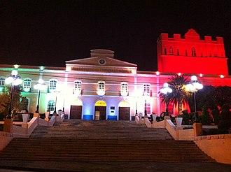 Universidad Autónoma del Estado de Hidalgo - Historic central building.