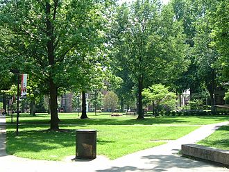 University of Louisville - The Quad on the Belknap Campus